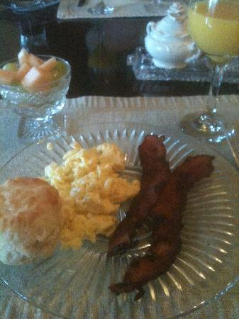 Robinwood Bed and Breakfast : Breakfast