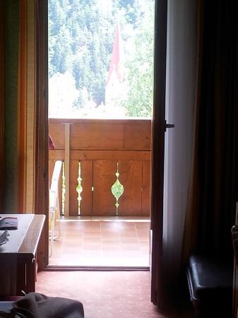 Hotel St. Pankraz - Ultental - Sudtirol: scorcio dalla stanza