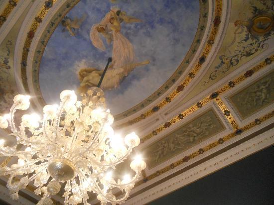 Palazzo Montevago: particolare del soffitto