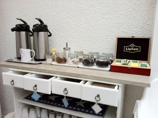 Hotel Stenugnen: coffee and tea selection