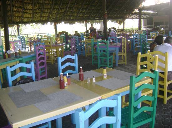 Laguna Mar: inside the grill food restaurant