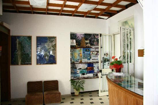 Hotel Fjby: La réception