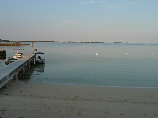 Boat dock outside the villa