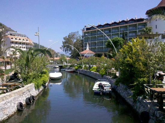 Flamingo Hotel: Icemelar canal