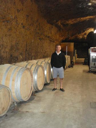 Chateau Gaudrelle, Vins de Vouvray: Tour of caves
