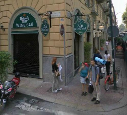 Zelli Wine Bar : Il lato del bar Zelli