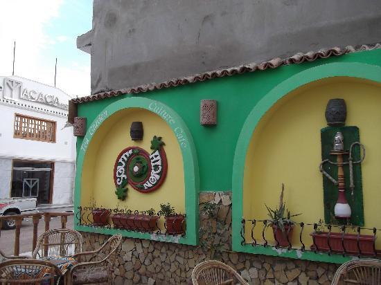 South North - Tea Garden & Culture Cafe: The entrance of the tea garden