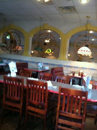 Cancun Mexican Restaurant I40 : inside decor
