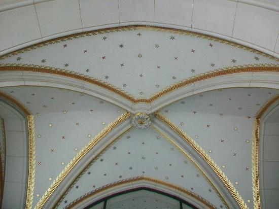 St. Wenceslas Cathedral (Katedrala Sv.Vaclava): Decortive vaulted ceiling
