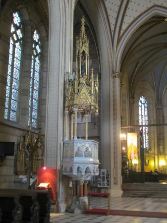 St. Wenceslas Cathedral: Pulpit