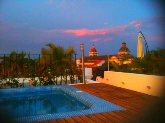 Bioma Boutique Hotel Mompox: terrace view