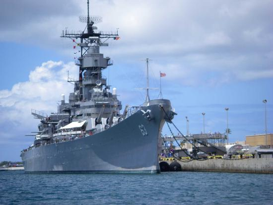 Battleships Of Wwii Tour