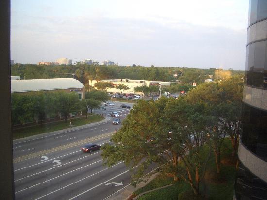 InterContinental Hotel Tampa: Vista de la habitacion.