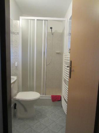 H+M Penzion: Room 6  shower