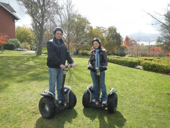 Segway Tours Blue Mountains: Happy couple!!!