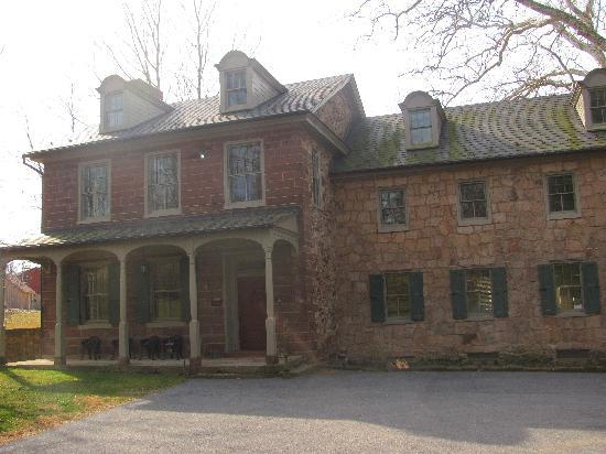 Speedwell Forge B&B : the main mansion