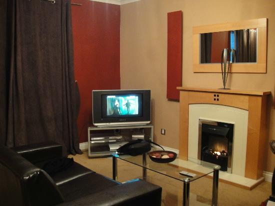 Royal Mile Accommodation: Living room