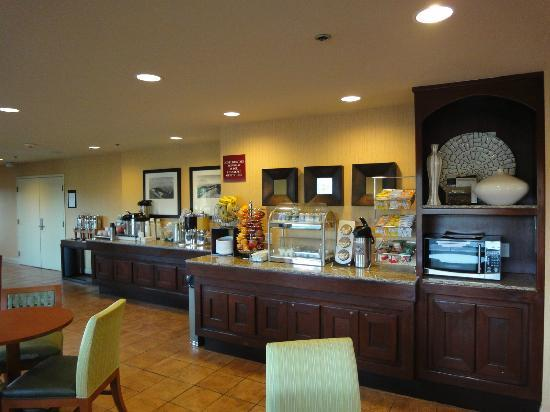 Holiday Inn Express Mill Valley San Francisco Area: Breakfast area