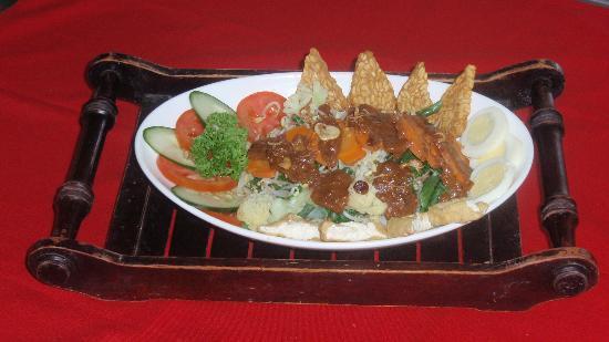 Rib Restaurant: gado gado