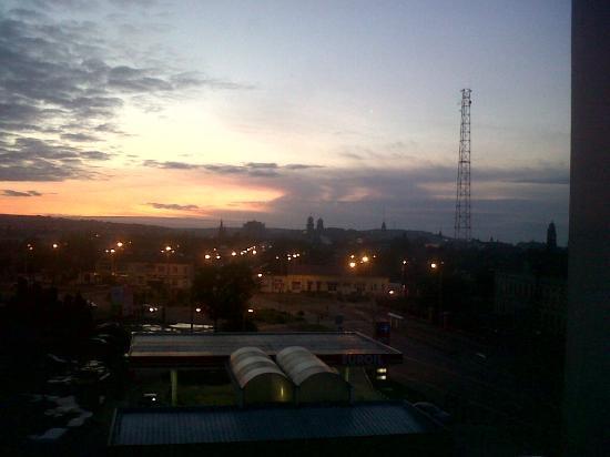 Ramada Oradea: sunrise in May