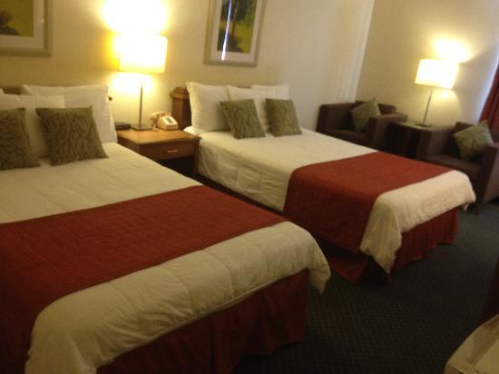 Quality Inn Okanogan: 2 Double Bed