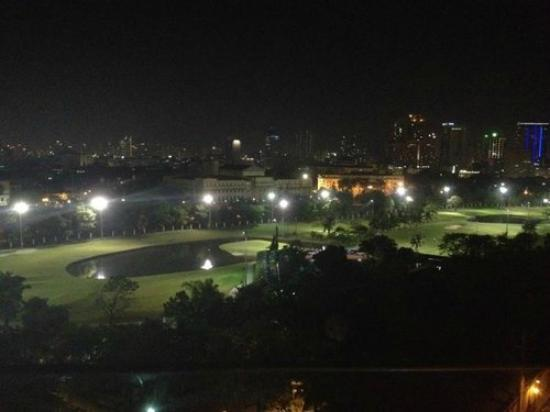 The Bayleaf Intramuros: View from Sky Deck at night