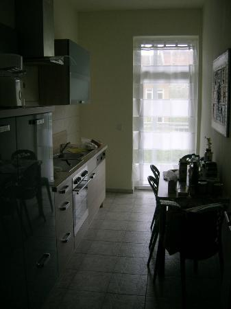 Auenwald-Pension: Küche
