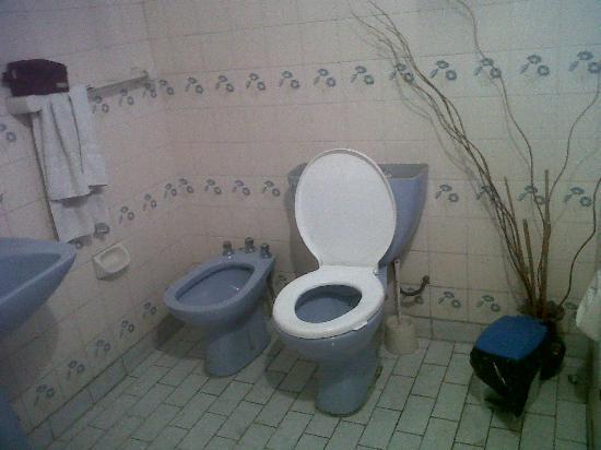 Hostal El Candil: Inodoro, Toilet