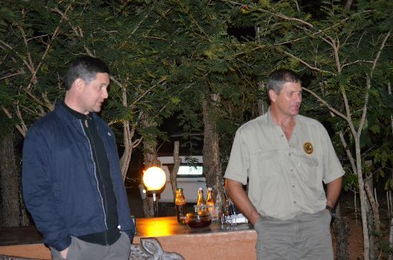 Tydon Safaris Day Tours: Evening drinks