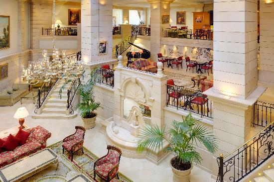 Marriott Amman Hotel: Piano Lounge