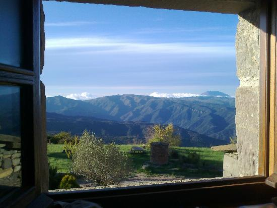 L'Avenc de Tavertet: Morning view from our room