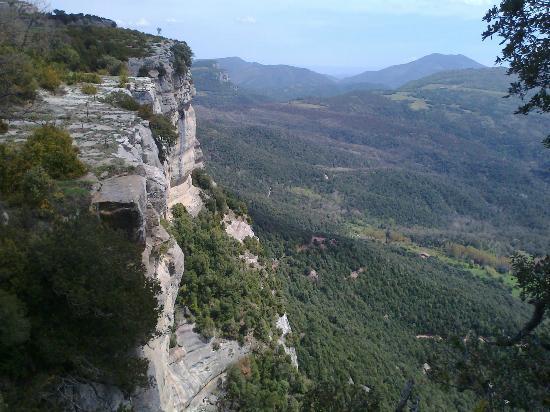 Tavertet, สเปน: Typical view near L'Avenc