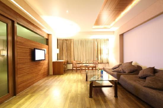 Nadiad, Индия: Suite Room Living Area