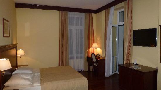 Grand Hotel Palazzo: Zimmer