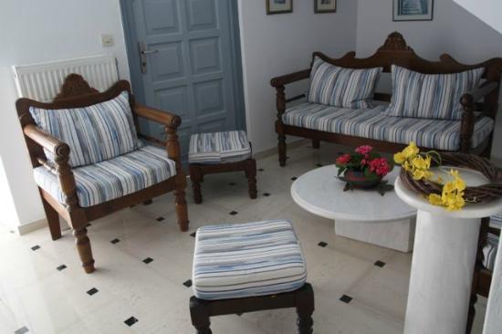 Thalia Hotel: sitting alcove