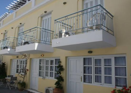 Thalia Hotel: All rooms have balconies