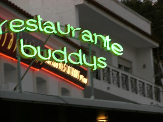 "Buddy's Steakhouse: de neon reclame van buddy""s"