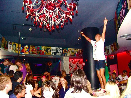 Inside Eclipse Bar Platanias