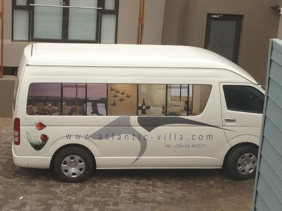 Atlantic Villa Boutique Guesthouse: Atlantic Villa shuttle