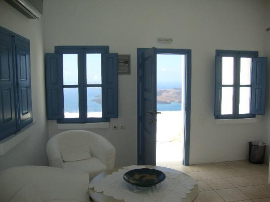Irini's Villas Resort: view from inside