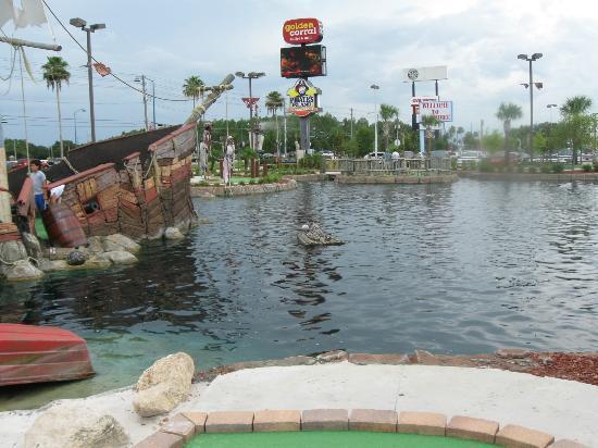 Pirate's Island Adventure Golf: had a riot!