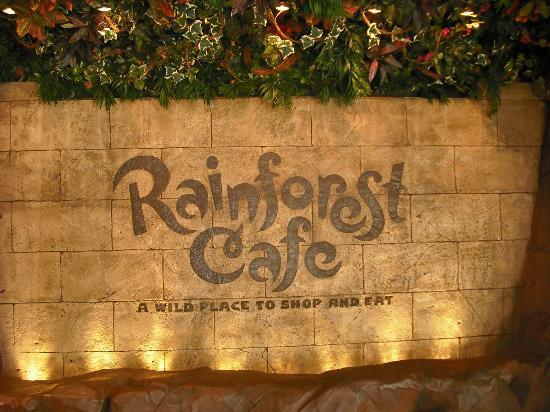 Rainforest Cafe Reviews Nashville