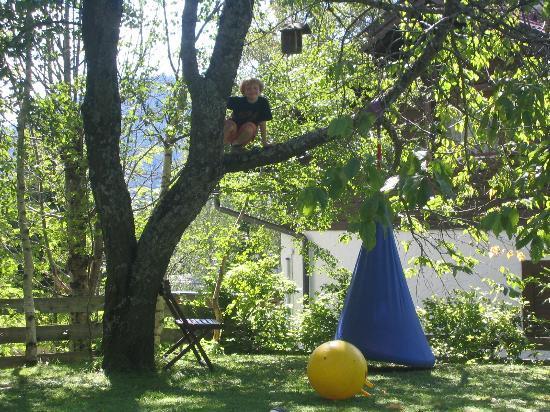 My Mountain Lodge: l'area giochi nel giardino