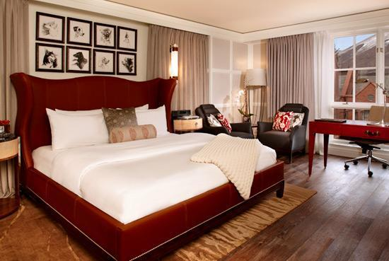The St. Regis Aspen Resort: King Guest Room