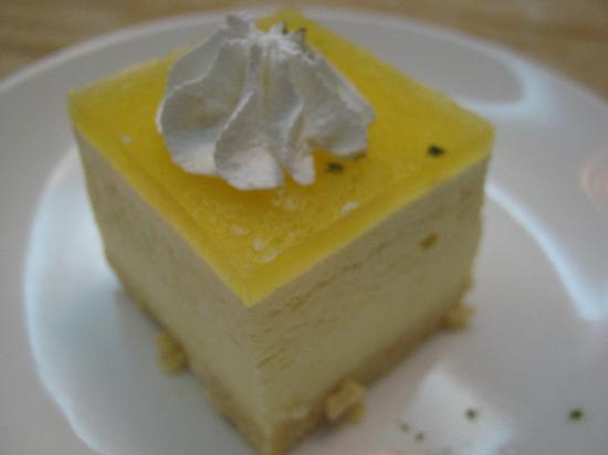 Cha For Tea : mango and tea dessert