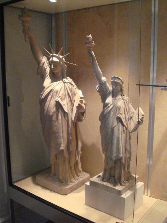 Musee Bartholdi: Statue of Liberty models