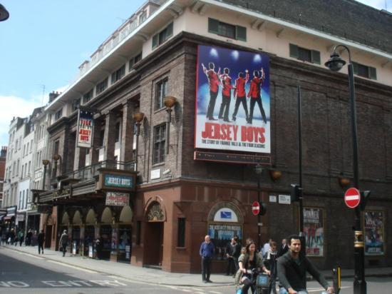 Jersey Boys London: Prince Edward Theatre, Old Compton St.