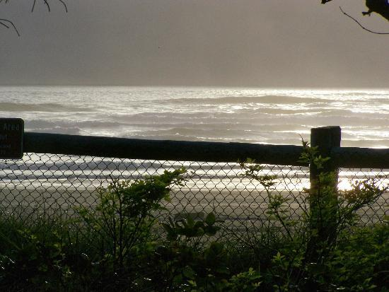 Beachside State Recreation Area: Late afternoon view