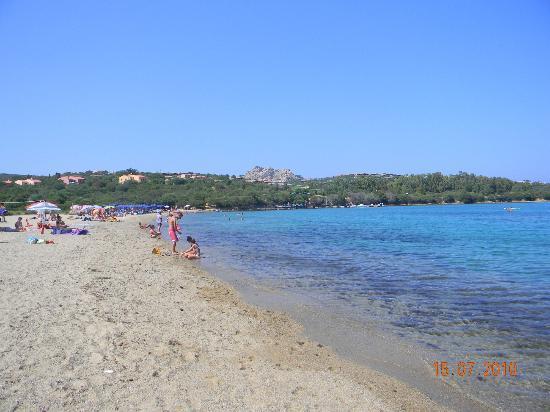 Camping Village Capo d'Orso: spiaggia campeggio