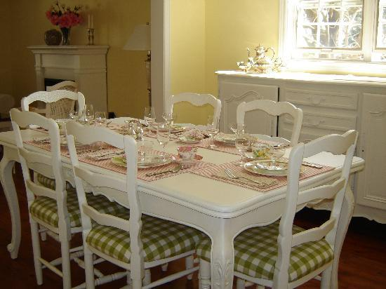 Cape House B&B: Breakfast Room
